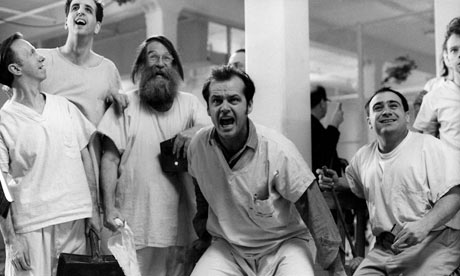 summer work one flew over the cuckoo s nest the image above is from the film set of one flew over the cuckoo s nest the winner of all 5 major academy awards of 1975 the film has been hailed one of